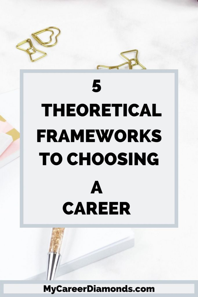 Theoretical Frameworks To Choosing A Career