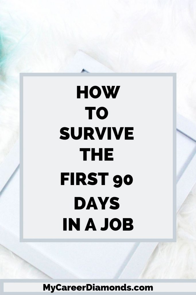 How To Survive The First 90 Days In A JOb
