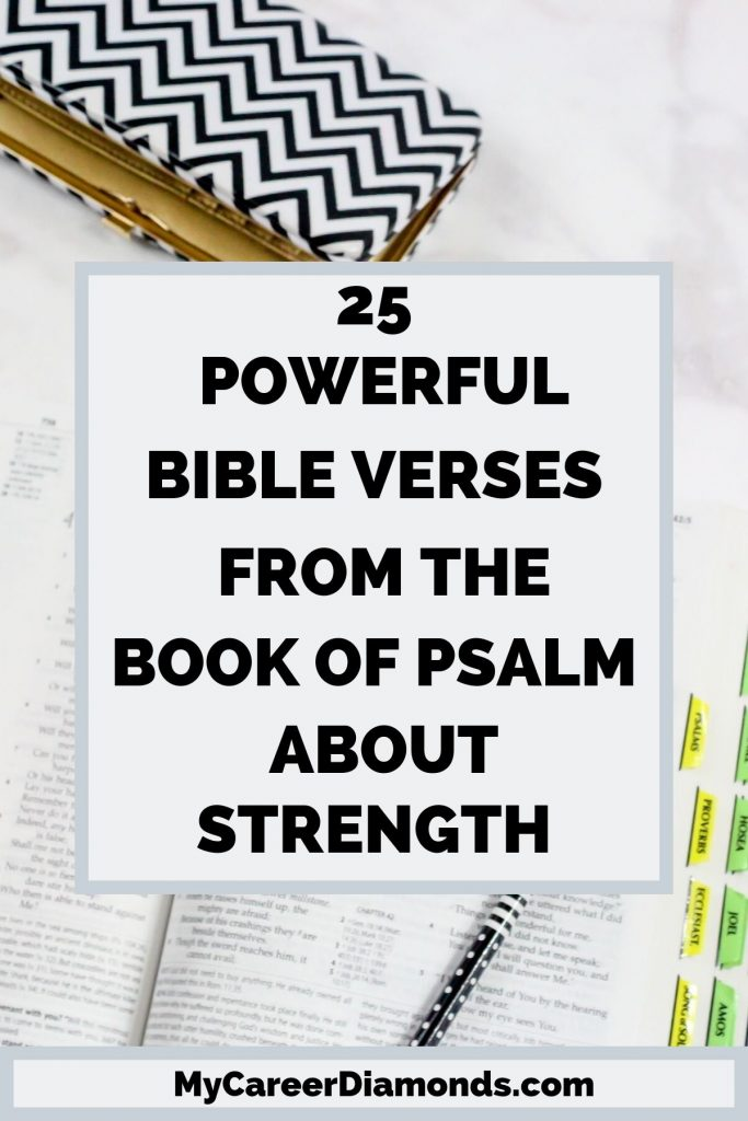 25 Powerful Bible Verses From The Book of Psalm About Strength