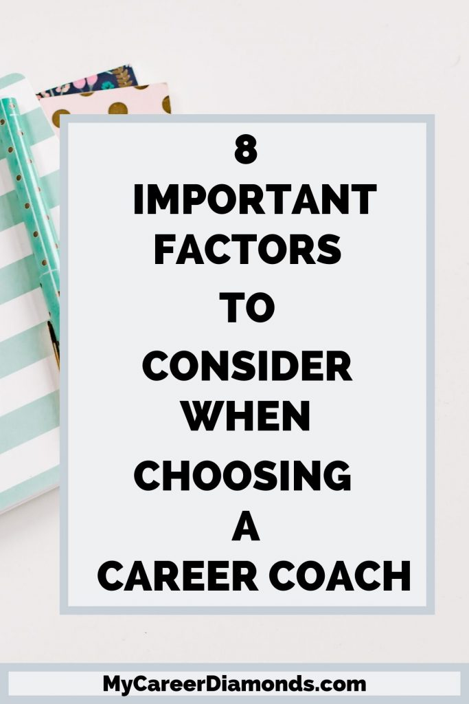 Important Factors To Consider When Choosing A Career Coach