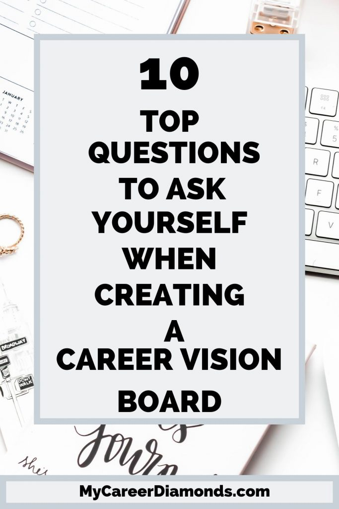 Top Questions To Ask Yourself When Creating a Career vision board