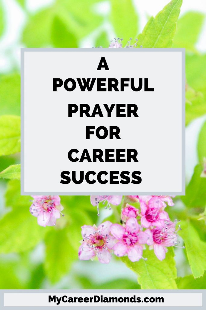 A Powerful Prayer For Career Success